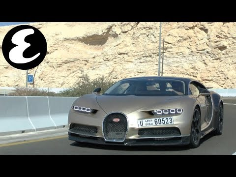Test driving 420kph Bugatti Chiron in Abu Dhabi | Esquire Vlogs
