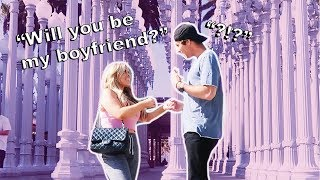 SHE ASKED ME TO BE HER BOYFRIEND! (there's a twist)