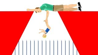 WILL HE SAVE HIS SON?! (Happy Wheels #112)