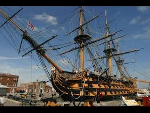 HMS Victory in Portsmouth, Hampshire, England, UK