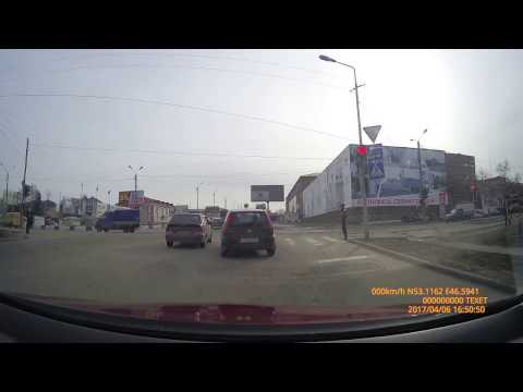 ДТП г.Кузнецк Чугунный мост