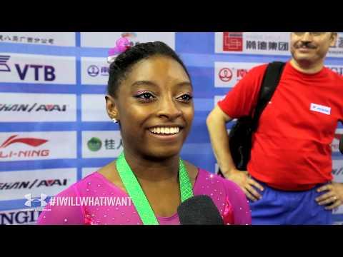 Simone Biles - Interview - 2014 World Championships - All-Around ...