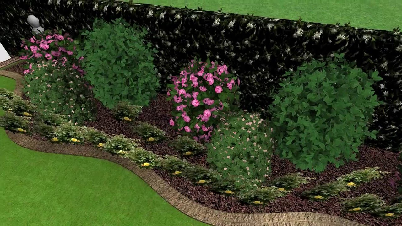 rendering giardino privato youtube