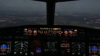 Night approach and landing UUDD