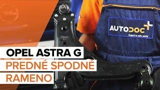 Montáž Hlava / čap spojovacej tyče riadenia OPEL ASTRA G Hatchback (F48_, F08_): video zadarmo