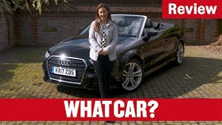 2018 Audi A3 Cabriolet Review - The new best small convertible? | What Car?