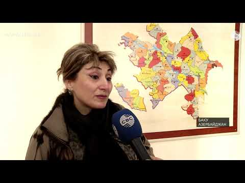 Армянка Ирина Берчиян в бакинской школе №1