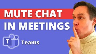 How to Disable Meeting Chat in Microsoft Teams | New Feature