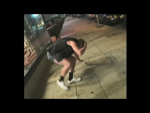 logan paul gets hit by a fan after all the drama..