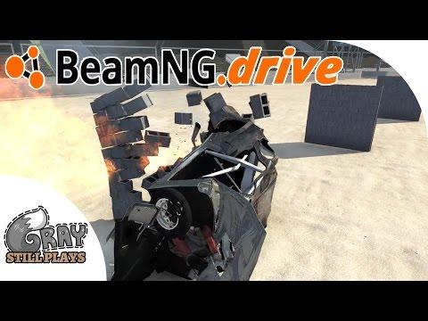200+ MPH Mad Max Wasteland Cars CRASH into Walls - Ramp Challenge - BeamNG.Drive Gameplay Highlights