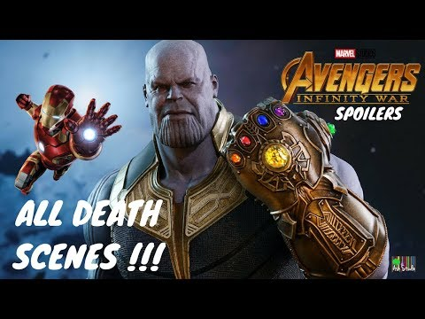 All Death Scenes !!! AVENGERS INFINITY WARS - Spoilers By Ash Studio thumbnail