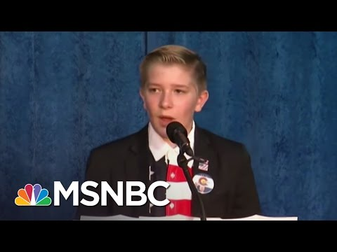 Donald Trump Puts Key District In 12-Year-Old Hands | Rachel Maddow | MSNBC