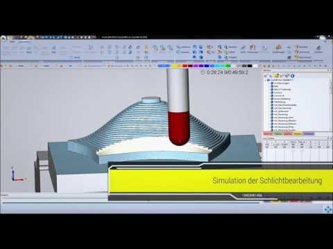 COSCOM Virtual Machining live im Alzmetall-Praxis-Einsatz