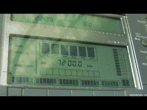 MYANMAR RADIO [YANGON, 50KW] — 7200 KHZ — [13 JAN. 2018 09.39 UTC]