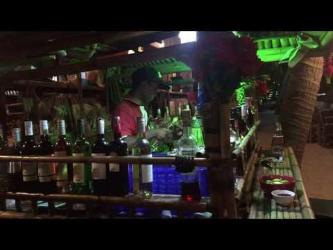 Koh Samui, Bamboo Restaurant in Lamai
