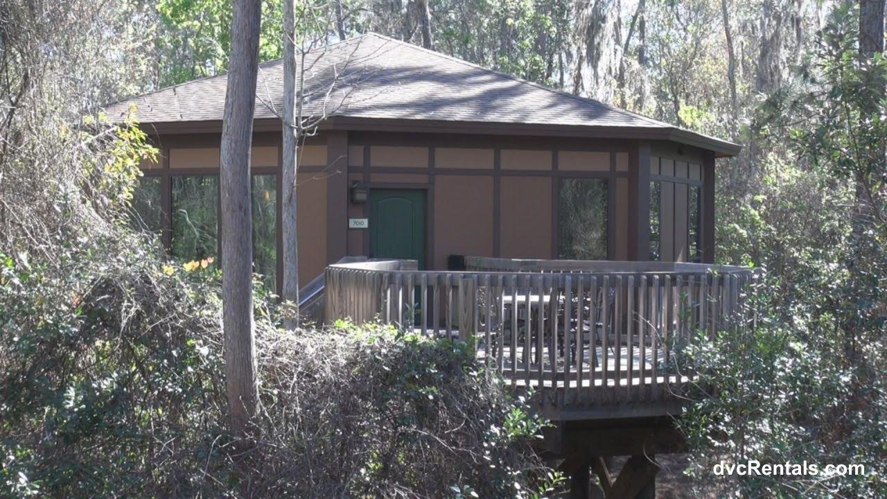 Saratoga Springs Resort U0026 Spa ROOM TOURS   TREEHOUSE VILLAS   Walt Disney  World Florida   YouTube