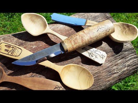 Finn Bushcraft Kés A - Marttiini Kiehinen -  Bushcraft Knife (eng. Subs.)