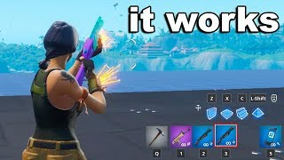 I tested NEW DOUBLE PUMP in Fortnite and it worked...