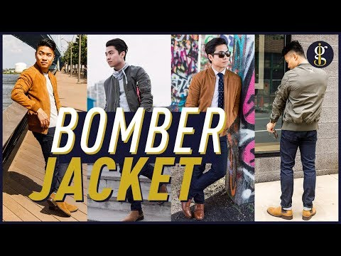 HOW TO WEAR A BOMBER JACKET 7 Ways + Why it Works | Men's Style & Fashion
