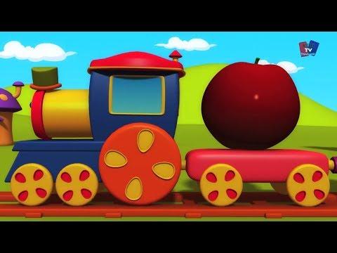 รถไฟบ๊อบเรียนผลไม้ | เพลงผลไม้ | ผลไม้สำหรับเด็กที่จะเรียนรู้ | Kids Learn | Bob Fruits Train