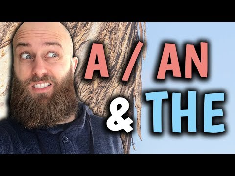 A / AN & THE: How to use ARTICLES in English