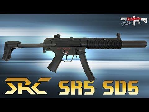 [Review] SRC SR5 SD6 (MP5 mit Stahlgehäuse) S-AEG 6mm Airsoft/Softair (German,DE)