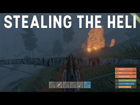 Stealing the Heli, Twice - Rust