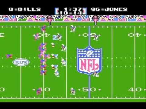 Tecmo Super Bowl, 2007 NFL season: Bills vs. Oilers (2/2)