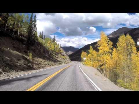 Scenic Drive, San Juan Skyway, Molas Lake to Silverton, Colorado, Autumn Colors