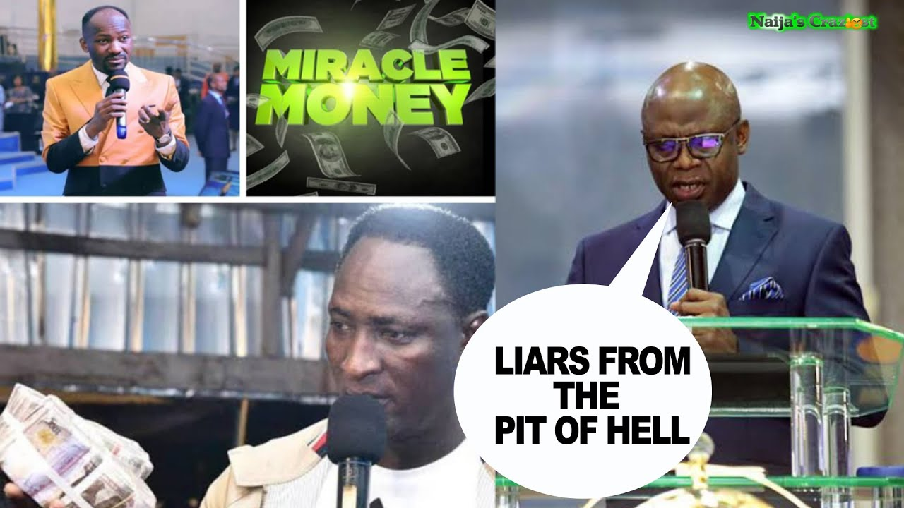 Download Your African Prophets Are Liars From The Pit Of Hell - Pastor Tunde Bakare