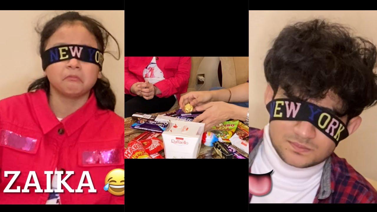 Chocolate ? challange | Maaz vs Fariha ? | Maazsafder | vlog 39
