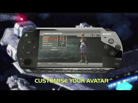 Phantasy Star Universe saga video game on PSP