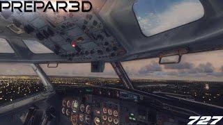 PREPAR3D V3.4 ** Boeing 727-200 @ EDDV \\ MAX REALISM