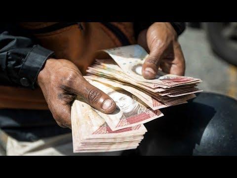 Economistas prevén más inflación en Venezuela ante aumento de sueldo mínimo