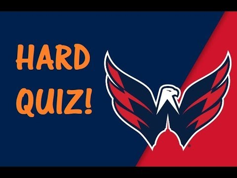 Trivia QUIZ on the Washington CAPITALS! - NHL Stanley Cup Finals 2018