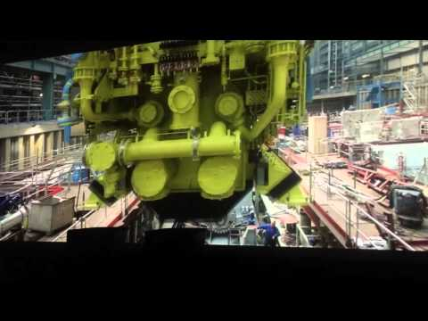 Norwegian Escape - The building of the ship at Meyer Werft