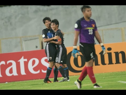 Japan vs Vietnam (AFC U-16 Championship 2016: Group Stage)