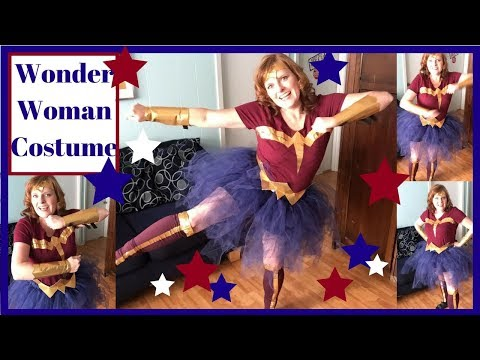 DIY Wonder Woman Costume How To. Part 4- Painting and Pauldron Design from YouTube · Duration:  8 minutes 55 seconds