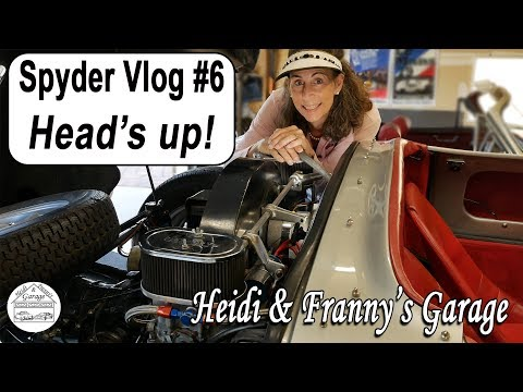 Beck 550 Spyder Replica VLOG #6 - Head's up!