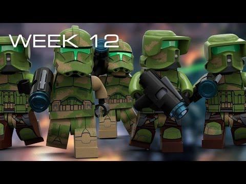 Building Kashyyyk in LEGO - Week 12: Beach Building