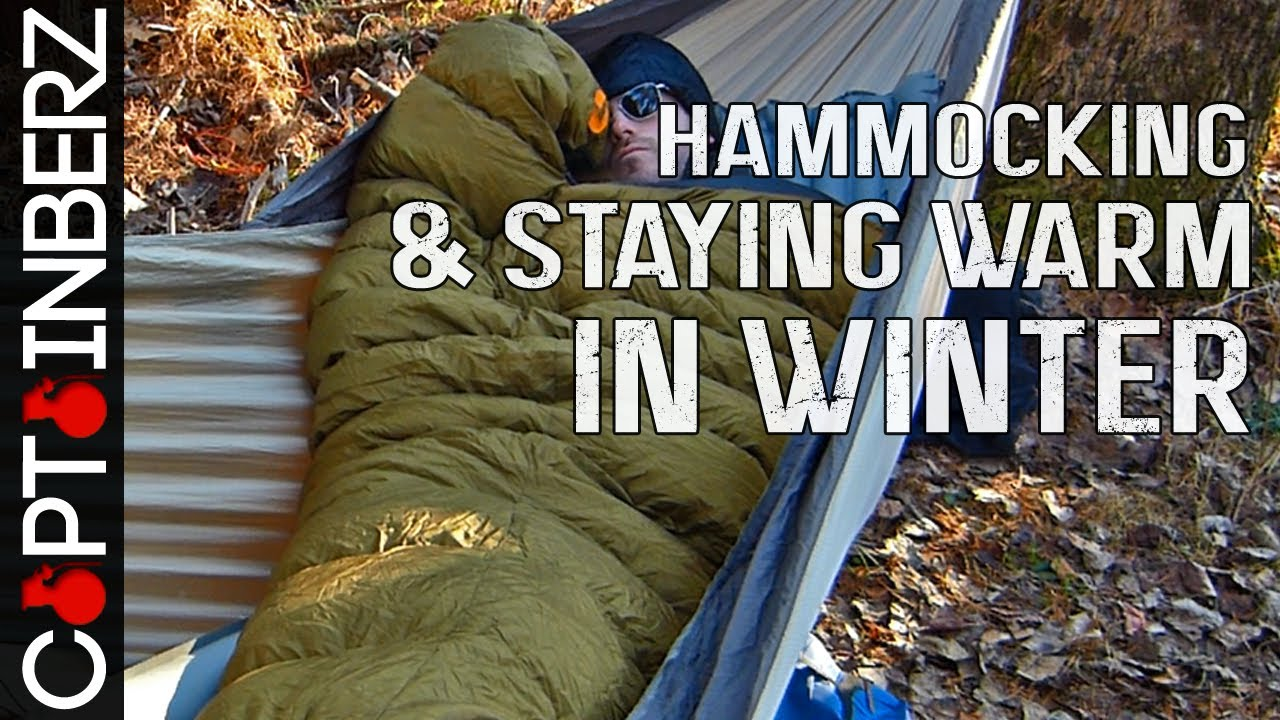 Hammocking in Winter: Keeping Warm in Cold Weather