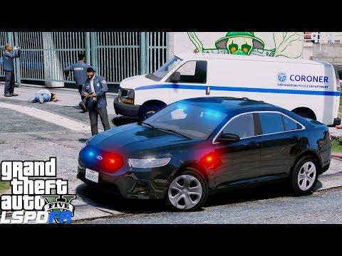 GTA 5 LSPDFR Police Mod 406 |Detective Investigating Crime Scene| Homocide Leads To Terrorist Attack