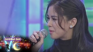 GGV: Kisses Delavin gets emotional while answering a question