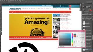 Photoshop Web Tasarım Dersleri 10 Son Dakika Haber Tasarımı Yapımı designus net