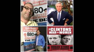 Roger Stone, gives candid interview about Politics and his new book Clinton
