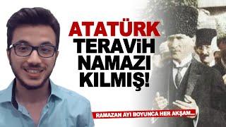 Gambar cover Atatürk teravih namazı kılmış! Ramazan Ayı boyunca her akşam...
