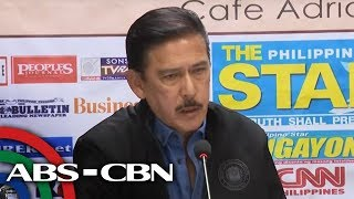 Senate Pres. Sotto holds press briefing on man behind viral an…