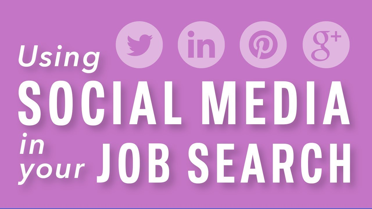 Job Search and Networking: Job Hunt with Social Media