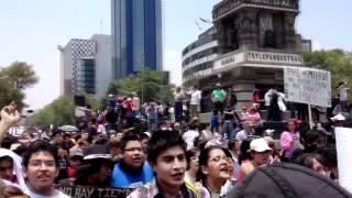 Tercera marcha ANTI PEÑA NIETO, México, D.F., 24 de junio de 2012