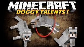 Minecraft mody 1.7.2 #56 - Doggy Talents - Triki psów!